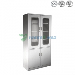 Low Price Stainless Steel Veterinary double Apparatus Cabinet YSVET866102